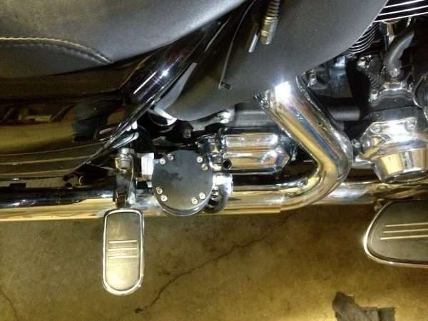 Feather Lever rear installation 2