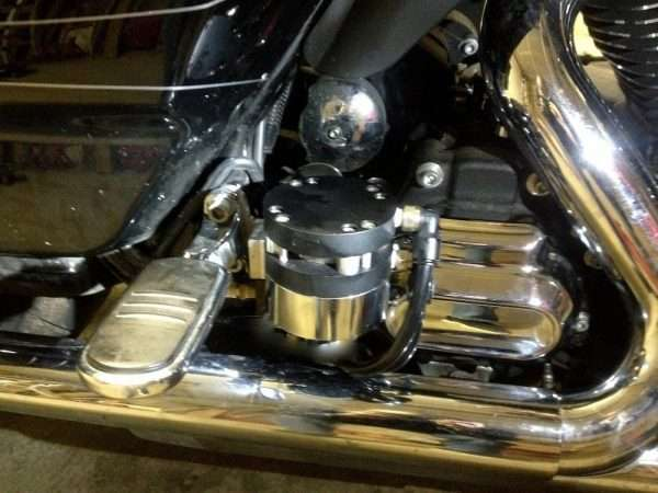 Feather Lever rear installation