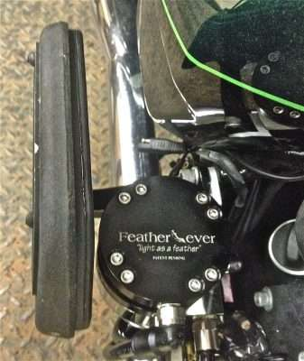 2015 Harley Davidson Ultra MEC-400 Feather Lever Installation_2