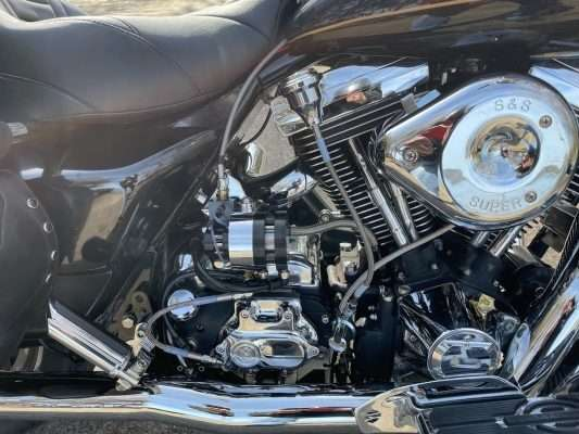 Feather Lever DIY '97 Road King Installation